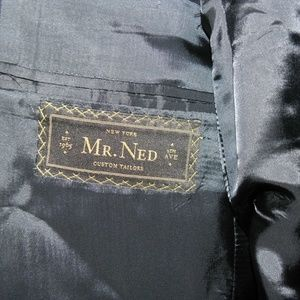 Mr. Ned Suits & Blazers - Mr. Ned Two Button Super 120 Suit 44 R 39 W